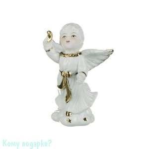 Фигурка «Ангелочек с луной», h=11 см - фото 50817