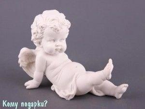 Фигурка «Ангелочек», коллекция «amore», h=12 см, l=17 см - фото 50865