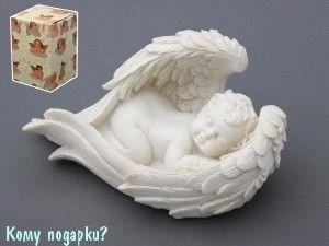 Фигурка «Спящий ангел», коллекция «amore», h=9 см, l=15 см - фото 50868