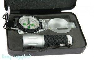 Набор для путешествий: фонарик, компас - фото 51165