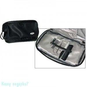 Мужская сумочка-косметичка, черная - фото 51493