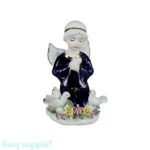 Фигурка «Ангел с голубями», h=13 см - фото 51607