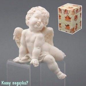 Статуэтка «Ангел», коллекция «amore», h=17 см - фото 51636