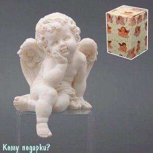 Фигурка «Ангел», коллекция «amore», h=17 см - фото 51637