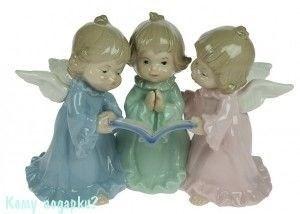 Статуэтка «Ангелочки», 18 см - фото 52933