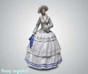 "Статуэтка ""Девушка с платком"", 29 см - фото 53331"