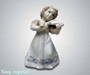 Статуэтка «Девочка со скрипкой», 14 см - фото 53336