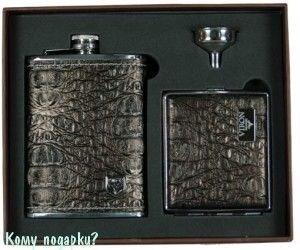 Подарочный набор VIRON, коричневый кроко - фото 53920