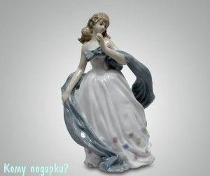 Статуэтка «Девушка с шарфом» - фото 54485