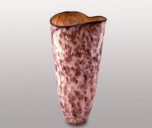 Стеклянная ваза, h=36 см - фото 54558