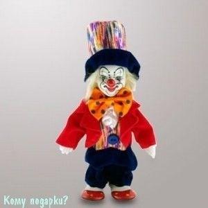 """Фигурка """"Клоун в цилиндре"""", h=14 см - фото 55186"""