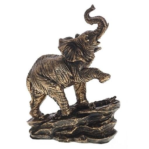 Фигура декоративная Слон L17W9H24см - фото 68306