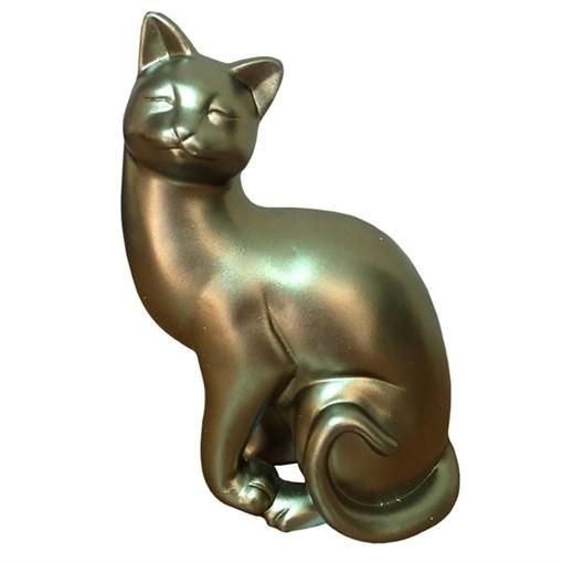 Фигура декоративная Кошка L13W8H19см - фото 68312