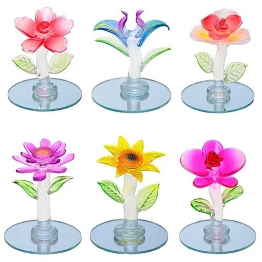 Фигурка декоративная Цветок L4W4H4см - фото 68325