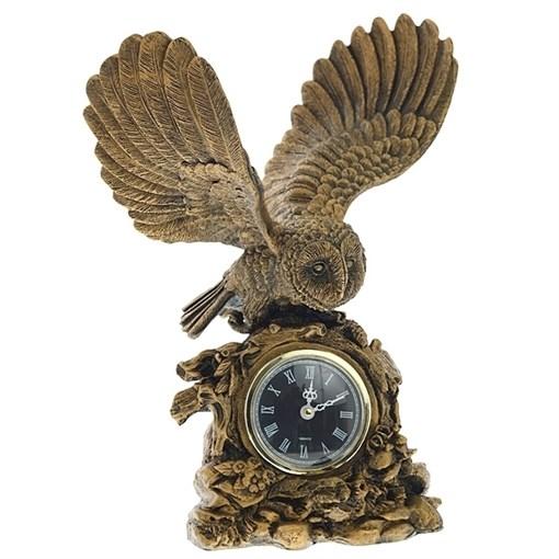 Часы настольные Сова расправила крылья Н31 см - фото 68354