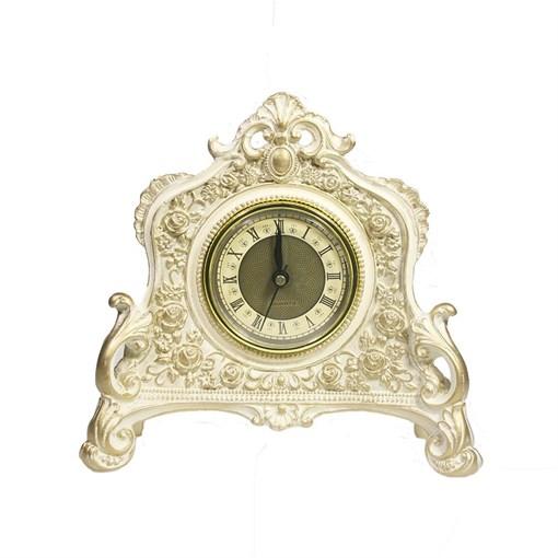 Часы настольные цвет: позолота L21W6.5H19 см - фото 68356