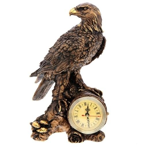 Часы настольные Орел цвет: сусальное золото L18W10.5Н31 см - фото 68357