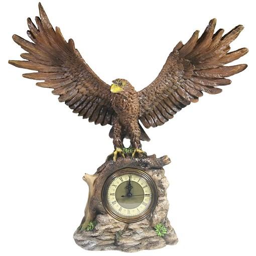 Часы настольные Орел расправил крылья цвет: акрил Н35 см - фото 68362