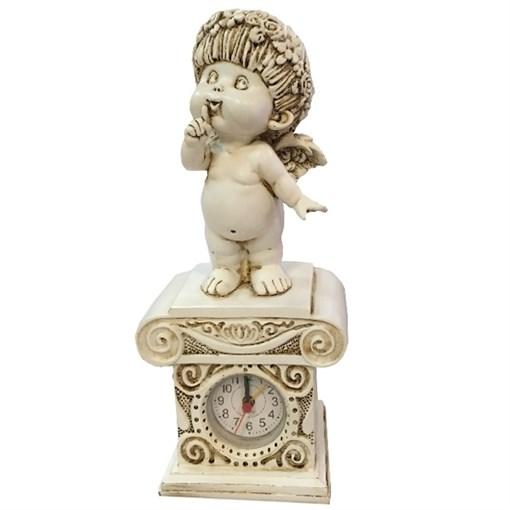 Часы настольные Ангел-I цвет: антик Н25.5 см - фото 68380