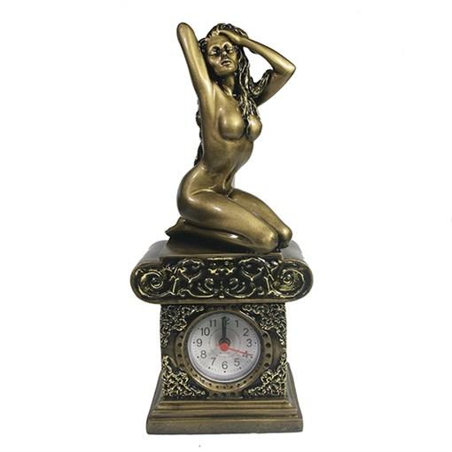 Часы настольные Девушка-I L11.5W8.5H26 см - фото 68391