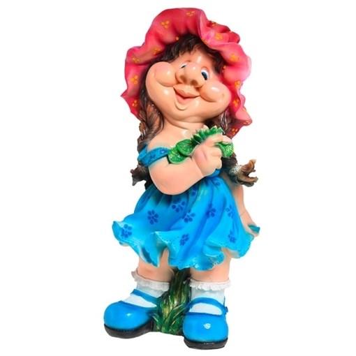 Фигура садовая Девочка кокетка H72 см. - фото 68682