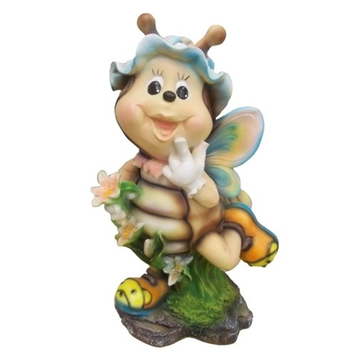 Фигура садовая Пчела №1 L24W21H54 см. - фото 68684