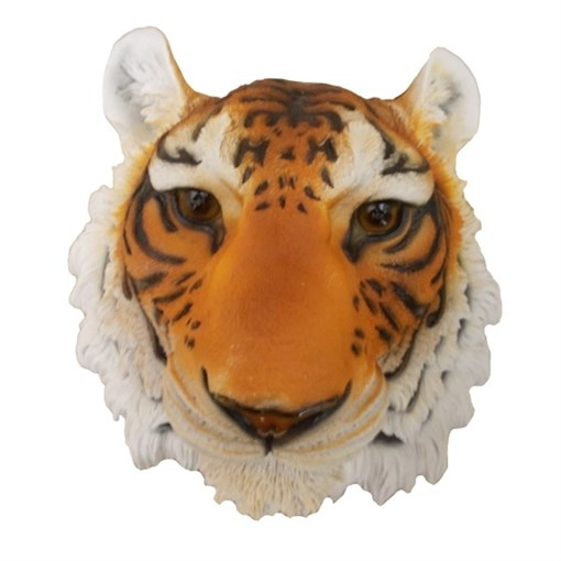 Фигура садовая Голова тигра навесная L34W35H23.5 см. - фото 68853