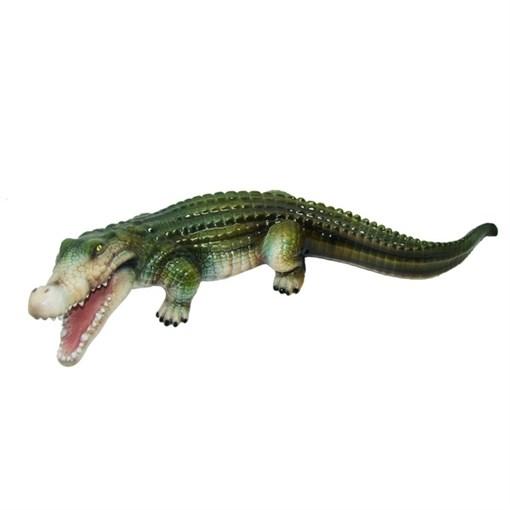 Фигура садовая Крокодил №2 L74 W29H17 см. - фото 68866