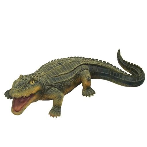 Фигура садовая Крокодил №1 L45W23H14 см. - фото 68867