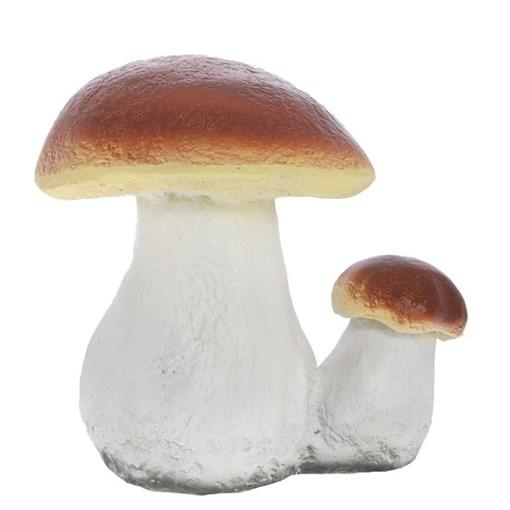 Фигура садовая Гриб белый двойной большой L21W17H23 см. - фото 68967