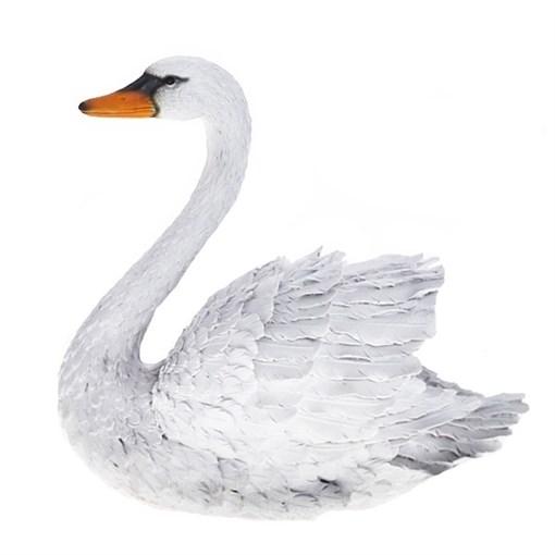 Фигура садовая Лебедь большой L41W22H38 см. - фото 69011