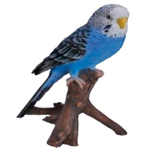 Фигура садовая навесная Попугай на ветке L9.7W8H16.5 см. - фото 69026