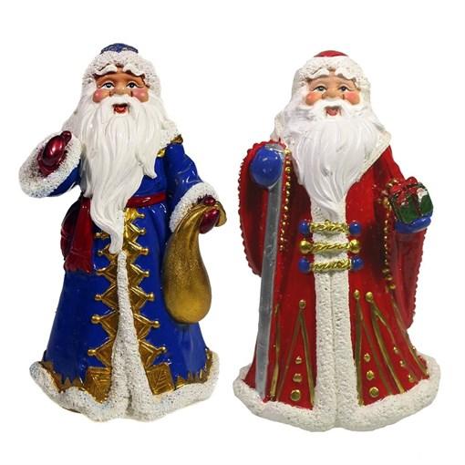 Фигура декоративная Дед Мороз L7.5W6H12см - фото 69416