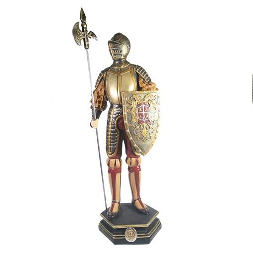 Изделие декоративное Рыцарь L15W17H53см - фото 69601