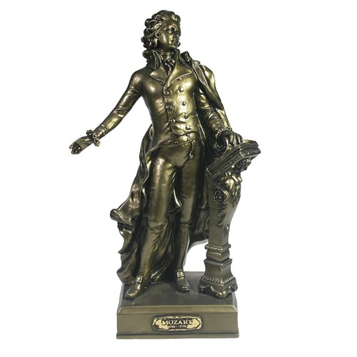 Изделие декоративное Моцарт золото L9.5W19H32см - фото 69623