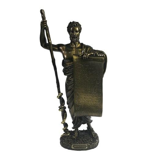 Изделие декоративное Гиппократ цвет: темное золото L14W10H12см - фото 69642