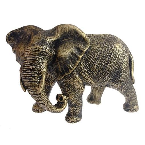 Фигура декоративная Слон африканский цвет: брозна L17.5W9H13см - фото 69671