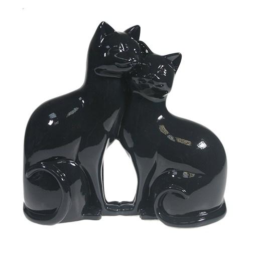 Фигура декоративная Кошки цвет: черный 713434/C007 - фото 69700