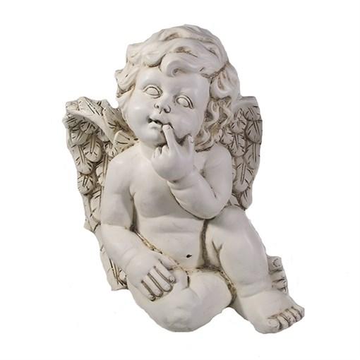 Фигура декоративная Ангел цвет: антик L23W22H26см - фото 69799