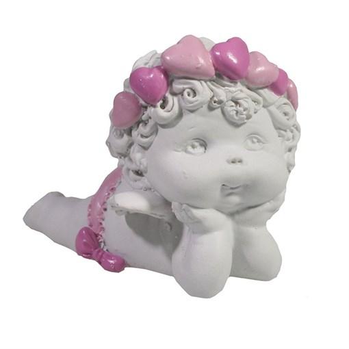 Фигура декоративная Ангел L8W5.5Н6.5см - фото 69825
