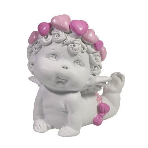 Фигура декоративная Ангел L8W5.5Н6.5см - фото 69826