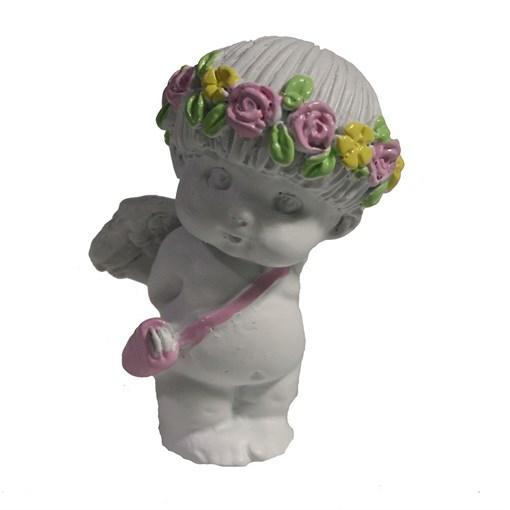 Изделие декоративное Застенчевый Ангел цвет: акрил L3W3.5H5.5см - фото 69838