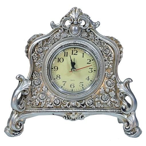 Композиция время цвет: серебро L21W6.5H19см - фото 69851