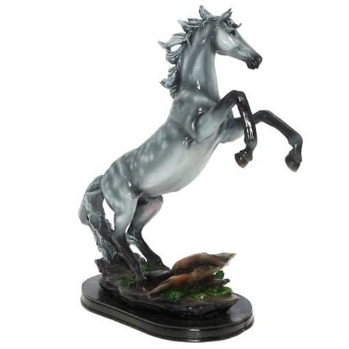 Фигура декоративная Конь в яблоках L30W15H40см - фото 69947