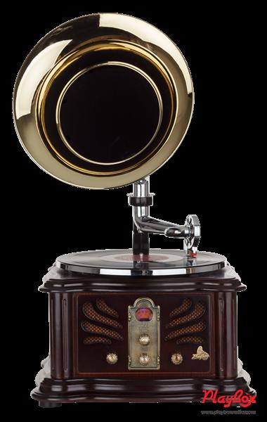 Граммофон Playbox Gramophone-I PB-1011U-NB - фото 72074