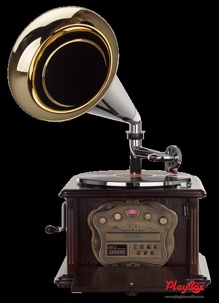 Граммофон Playbox Gramophone-III PB-1013U-NB - фото 72076