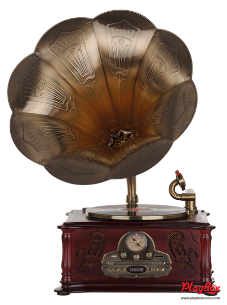 Граммофон Playbox Gramophone-IV PB-1014D-NB - фото 72081
