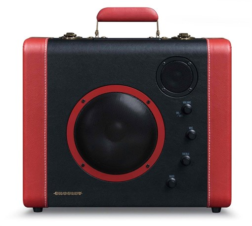 Проигрыватель Кросли (Crosley) Soundbomb CR8008A-BK - фото 72202