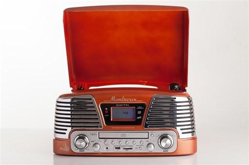 Проигрыватель Playbox Montreux PB-106D-OR - фото 72241