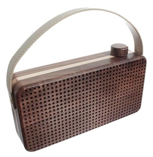 Портативный-динамик Playbox Woodstock PB-17U-BR - фото 72259